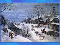Зима: поэт - художник - композитор (Скриншот)